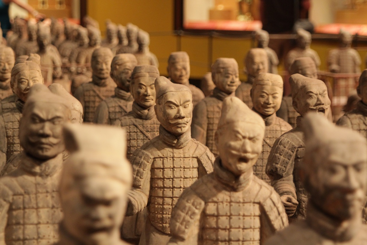 The Terracotta Army, China – 2