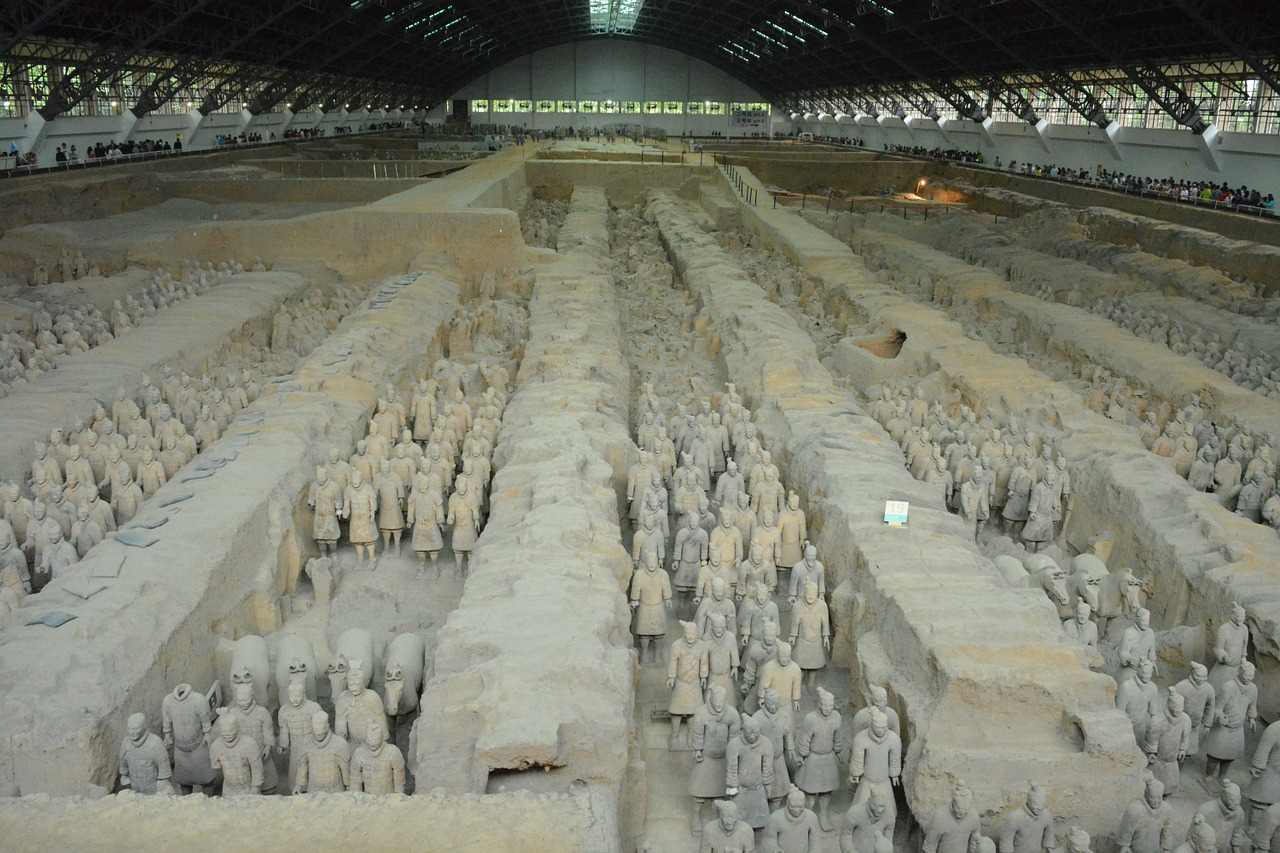 The Terracotta Army, China – 4