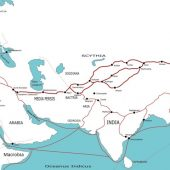The Silk Road in the 1st century