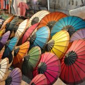 Umbrella Village Bo Sang Thailand