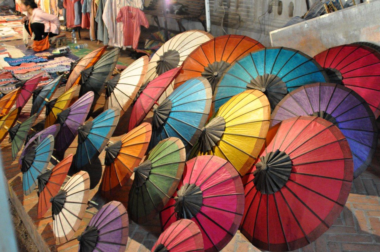 Umbrella Village Bo Sang Thailand