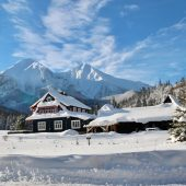 Winter in Monkova dolina valley, Zdiar, Slovakia