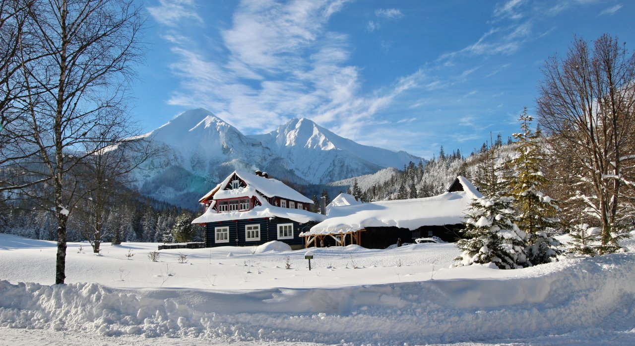 Winter in Monkova dolina valley, Zdiar, Slovakia