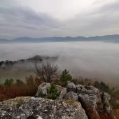 A view from the Rocky town Drevenik, Nature reserve, Best places to visit in Slovakia