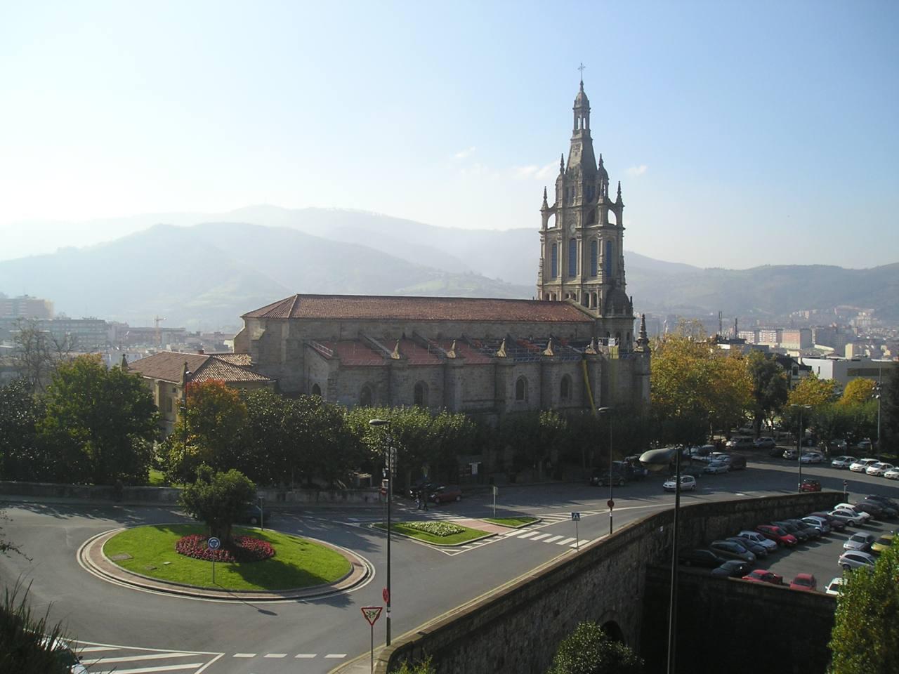 Basilica of Begoña, Bilbao, Spain