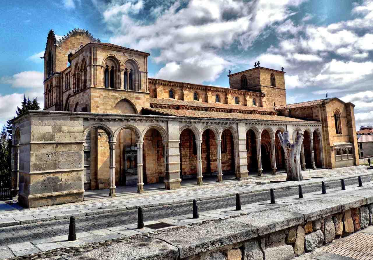 Basilica of San Vicente, Ávila, Spain