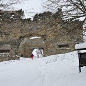 Brekov castle, Eastern Slovakia 4