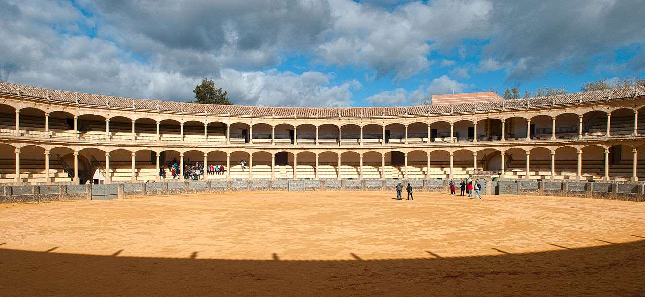 Bullring of the Royal Cavalry of Ronda, Spain
