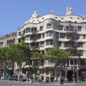Casa Milà, Barcelona, Spain