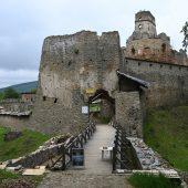 Castle Zborov, Bardejov district, Slovakia