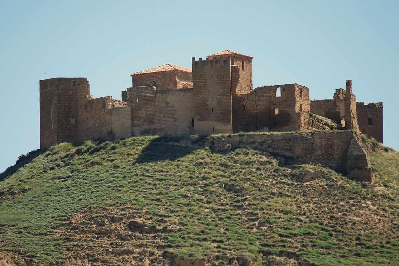 Castle of Montearagón, Huesca, Spain