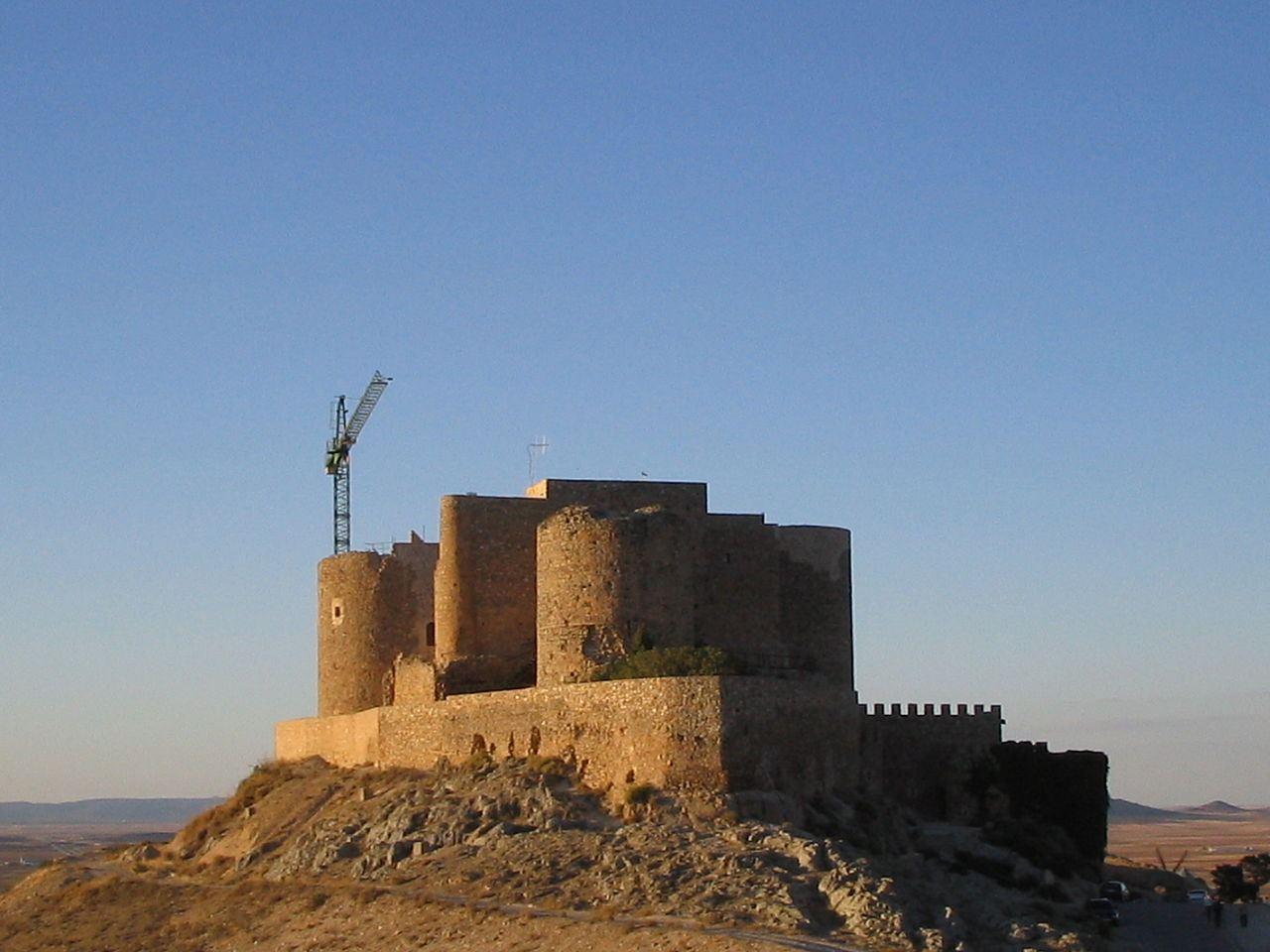 Castle of la Muela, Consuegra, Spain