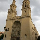 Cathedral of Santa Maria de la Redonda in Logrono, Cities in Spain