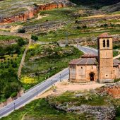 Church of Vera Cruz, Segovia, Spain