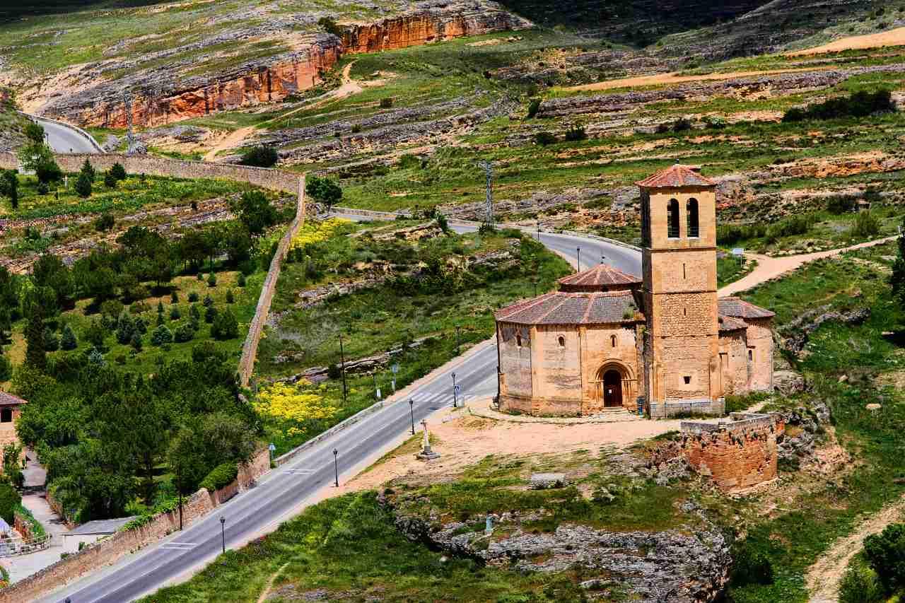 Church of Vera Cruz, Segovia, Spain