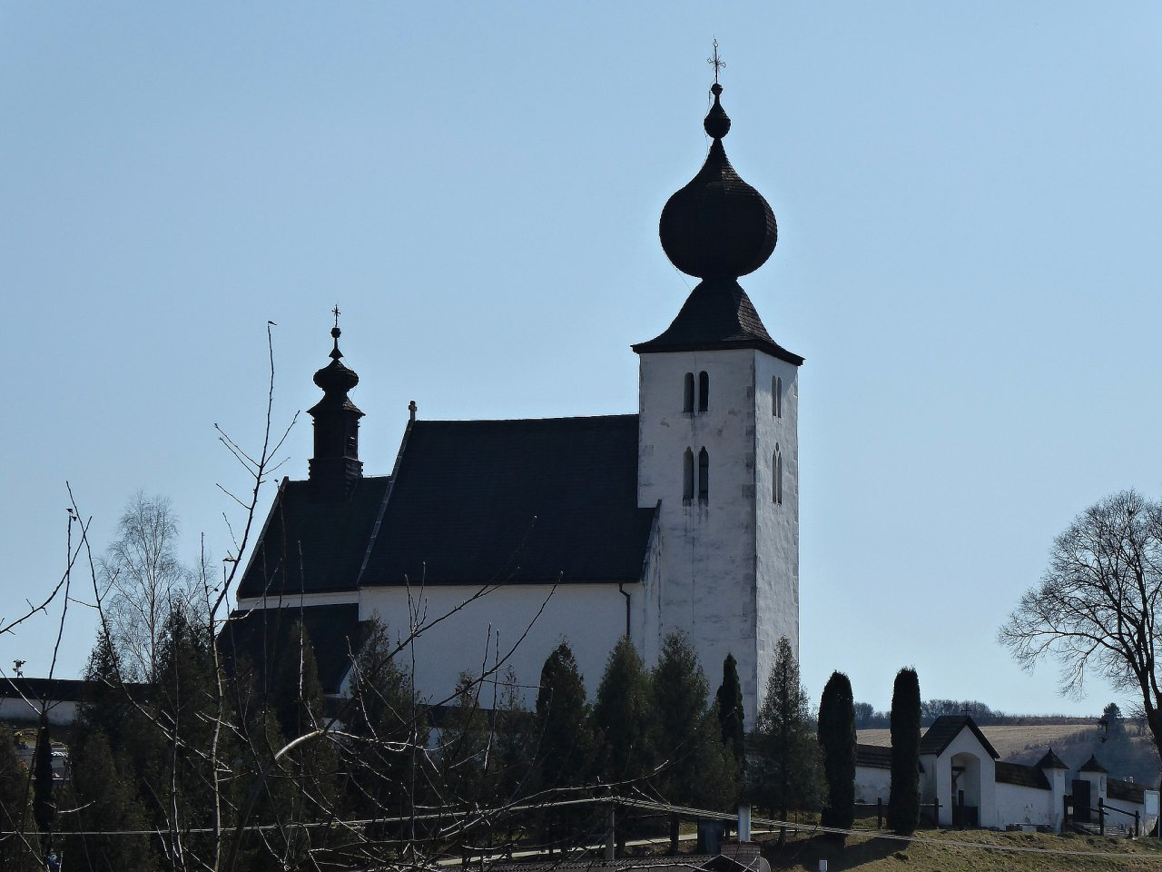 Church in Zehra village, Best places to visit in Slovakia