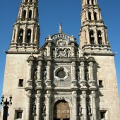 Church in centre of Chihuahua, Visit Mexico