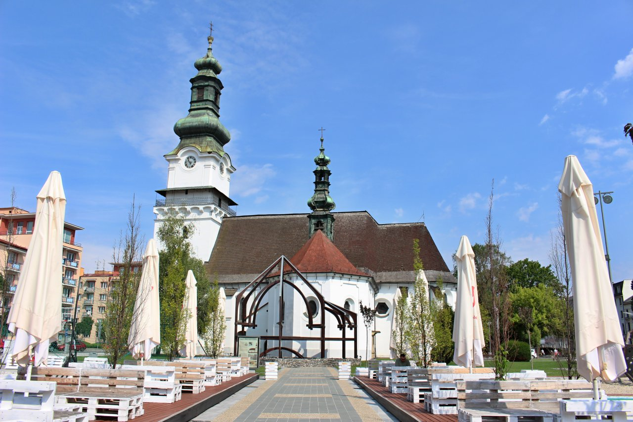Church in town center, Zvolen, Best places to visit in Slovakia 2
