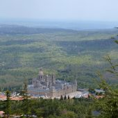 El Escorial convent residence overlooking the entire complex, the Comunidad de Madrid, Cities in Spain