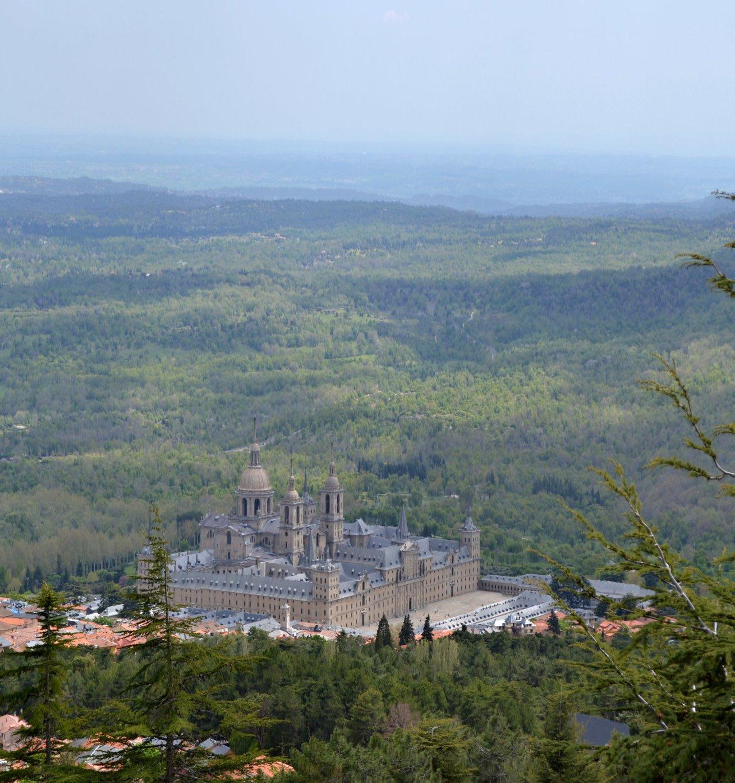 El Escorial convent residence overlooking the entire complex, the Comunidad de Madrid, Cities in Spain