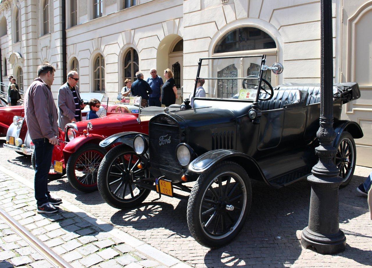 Ford, Cassovia Retro 2018, Kosice, Slovakia