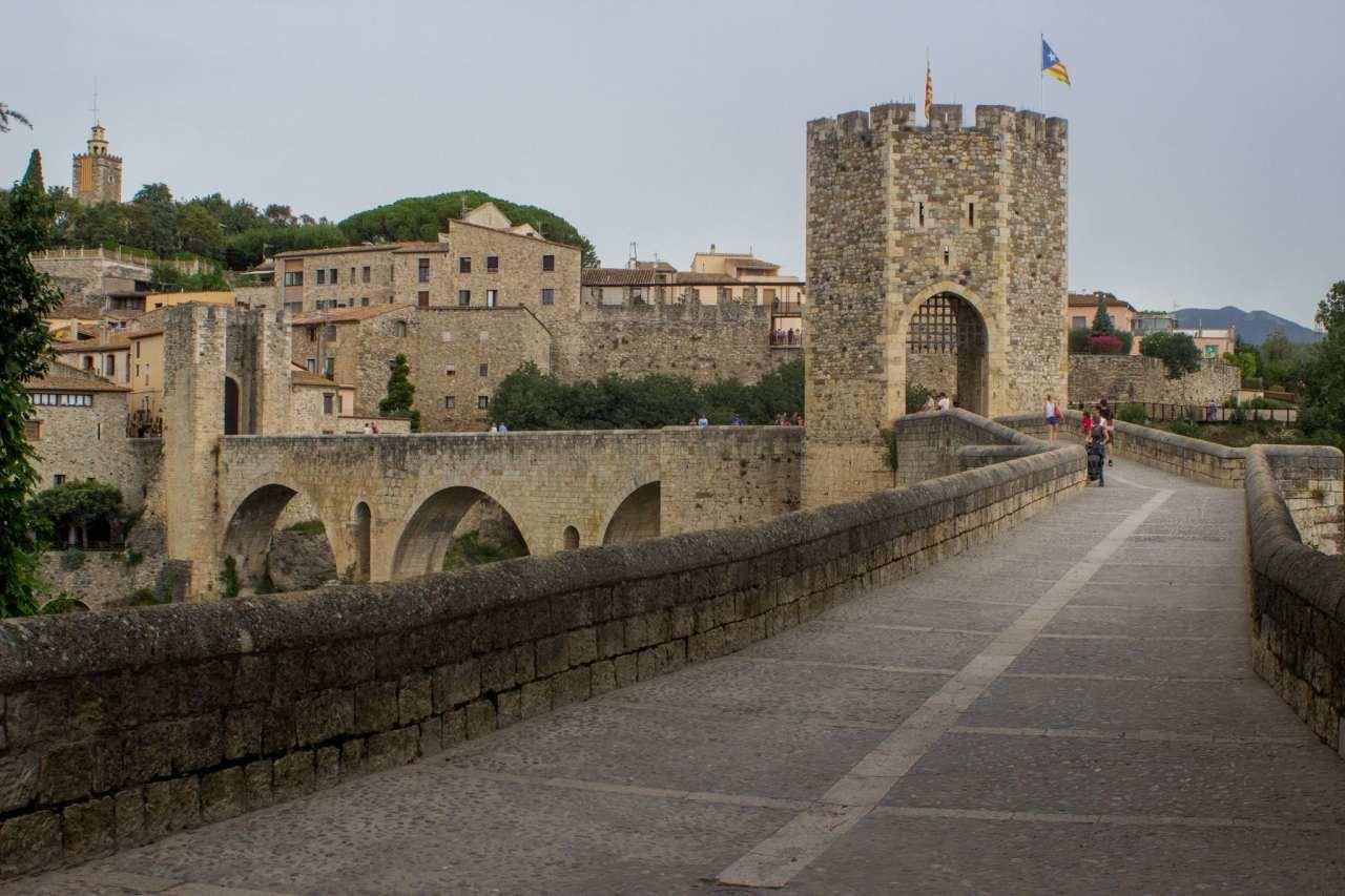Girona Wall, Girona, Spain