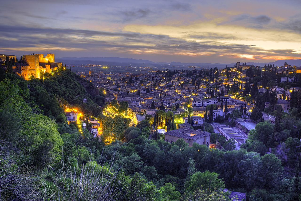 Granada, Cities in Spain