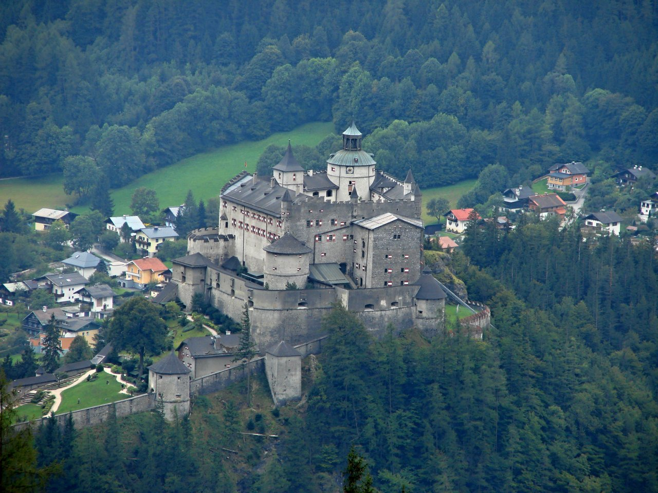 Hohenwerfen Castle, Best Places to Visit in Austria