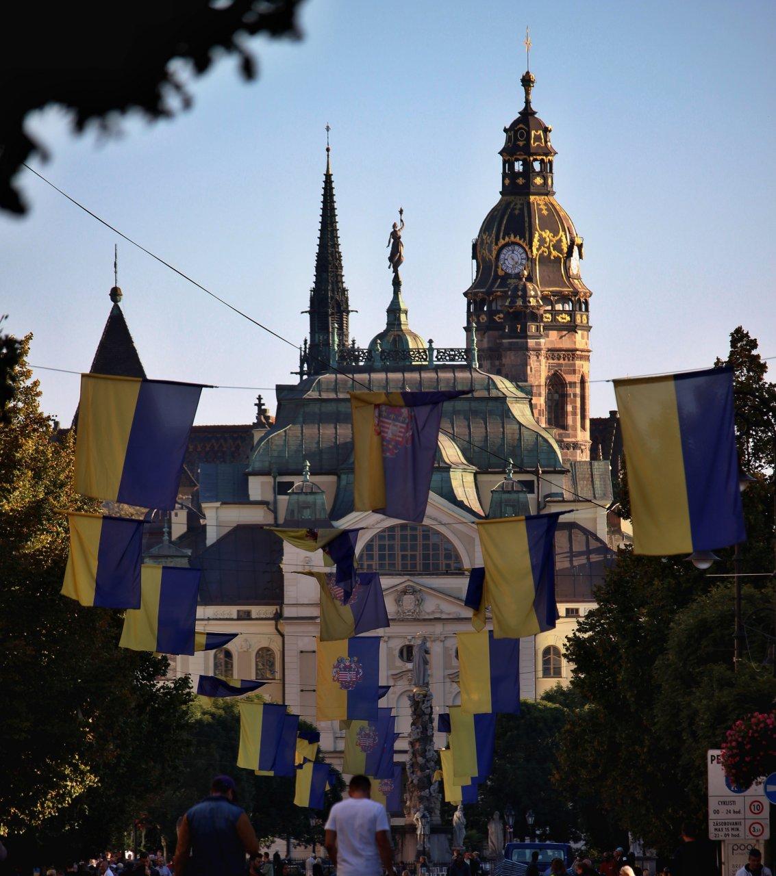 Košice, Slovakia after International Peace Marathon