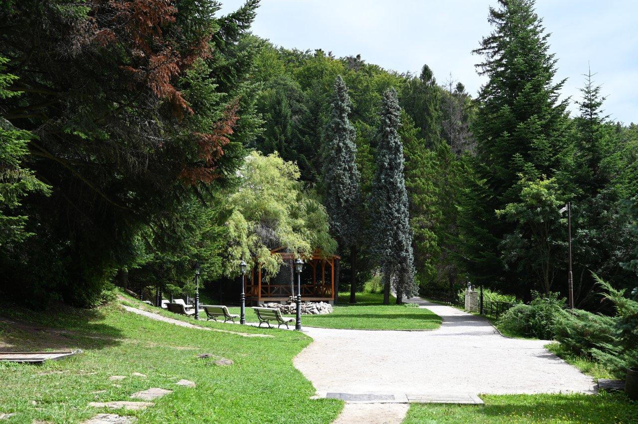 Kúpele Štós Spa – park