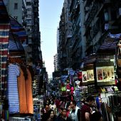 Ladies Street market, Hong Kong