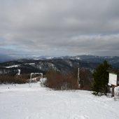Lysa peak, Cergov mountain range, Eastern Slovakia