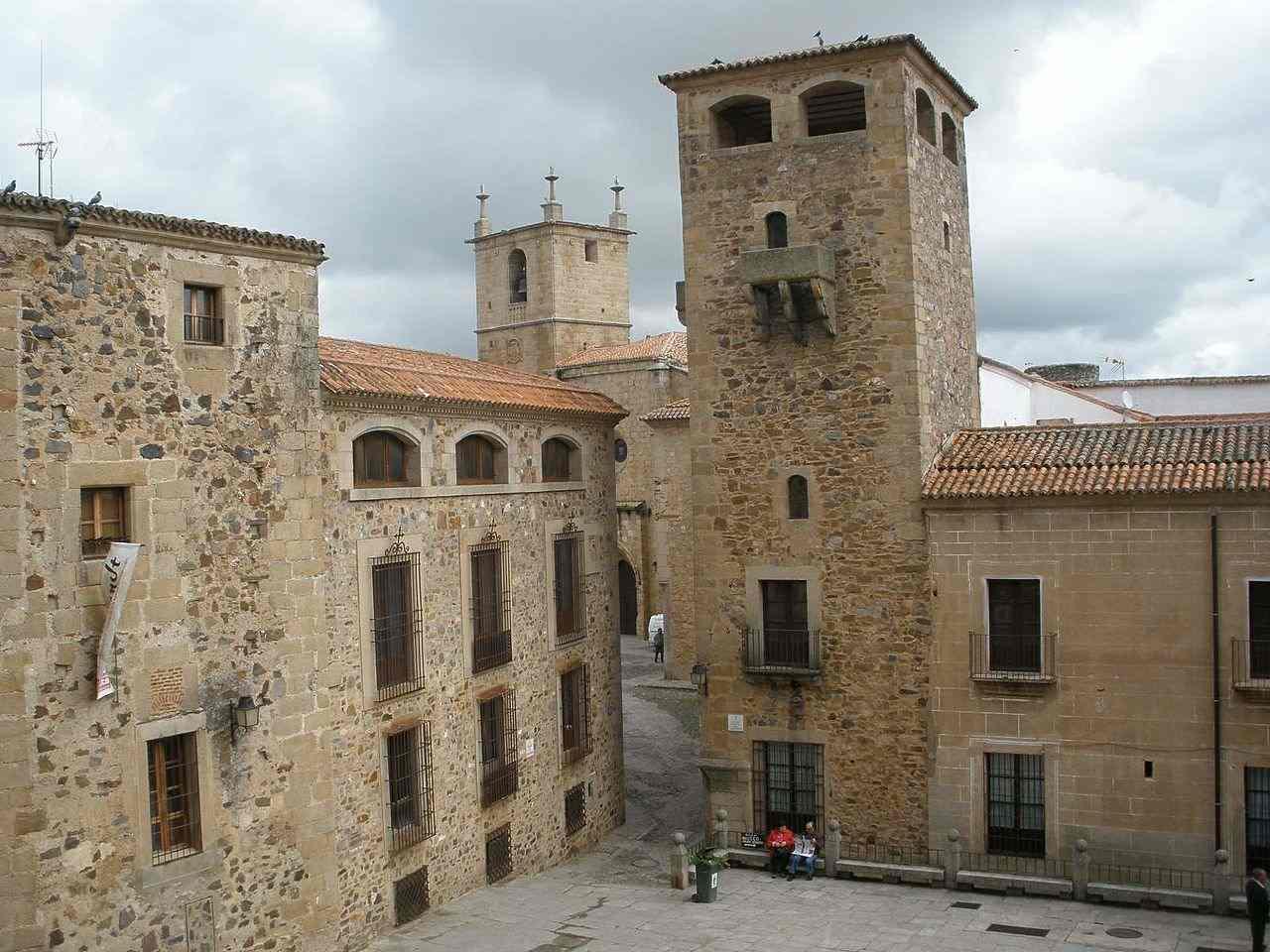 Palacio De Los Golfines De Abajo, Cáceres, Spain