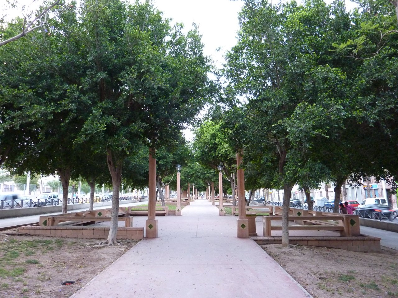 Park in Elche, Spain