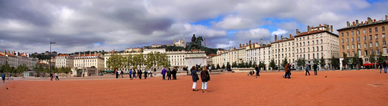 Place Bellecour, Lyon, Cities in France