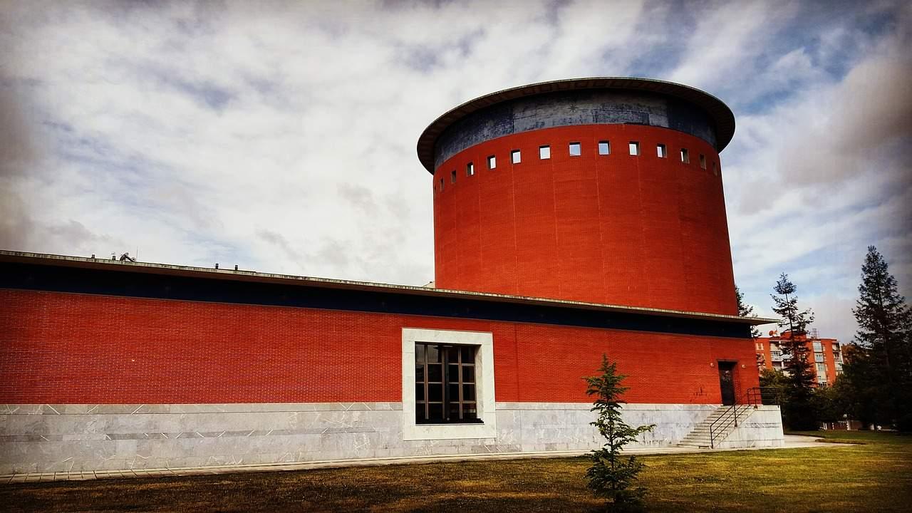 Planetarium, Pamplona, Spain