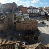 Plaza Mayor, Cáceres, Spain