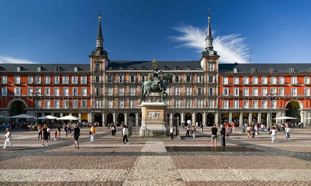 Plaza Mayor Madrid Spain GoVisity Com