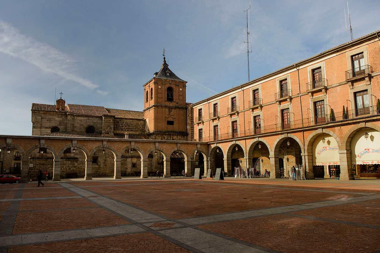 Plaza Mercado Chico, Ávila, Spain