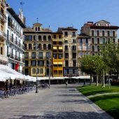 Plaza del Castillo, Pamplona, Spain