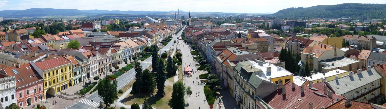 Prešov – panorama, Best places to visit in Slovakia