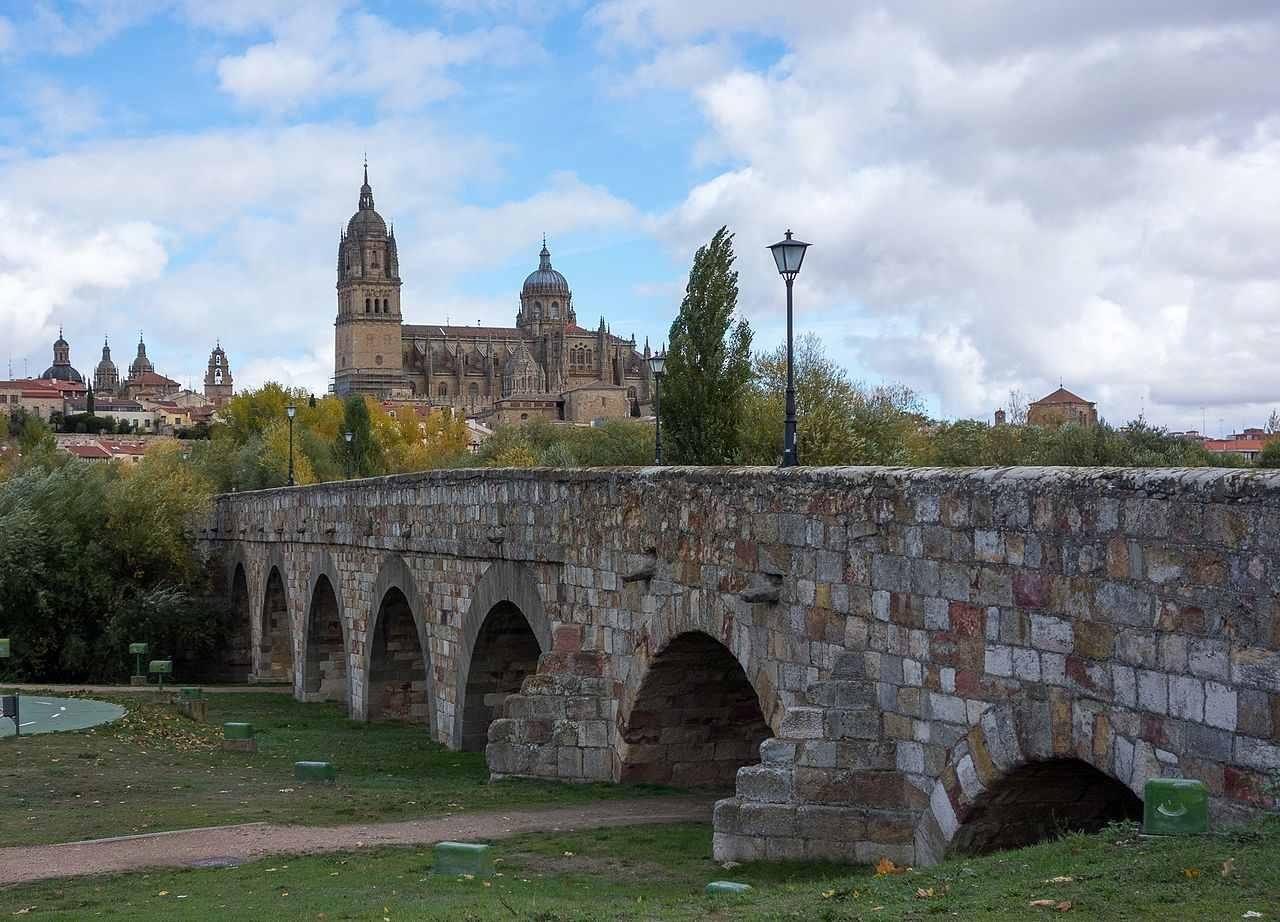 Roman bridge of Salamanca, Salamanca, Spain