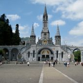 Rosary Basilica, Lourdes, Cities in France