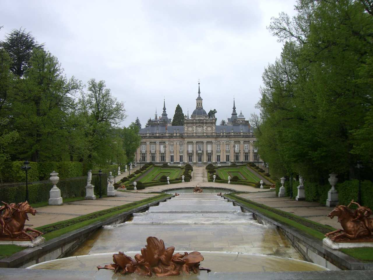 Royal Palace of La Granja de San Ildefonso, Segovia, Spain