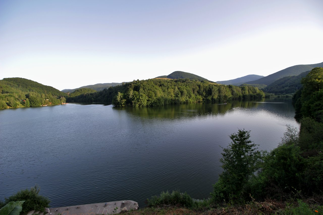 Ružín water dam, Košice region, Slovakia