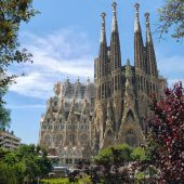 Sagrada Familia, Cities in Spain