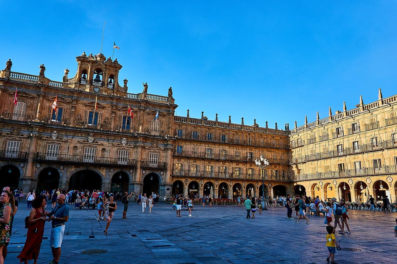 Salamanca, Cities in Spain