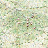 Slovakia National Parks - maps