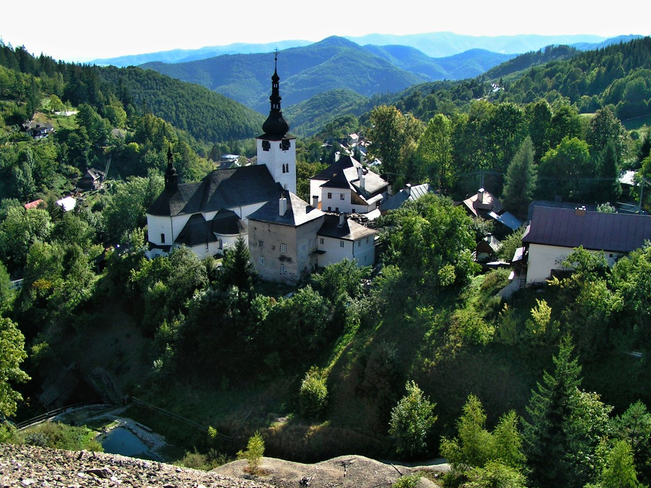 Špania Dolina, Best places to visit in Slovakia