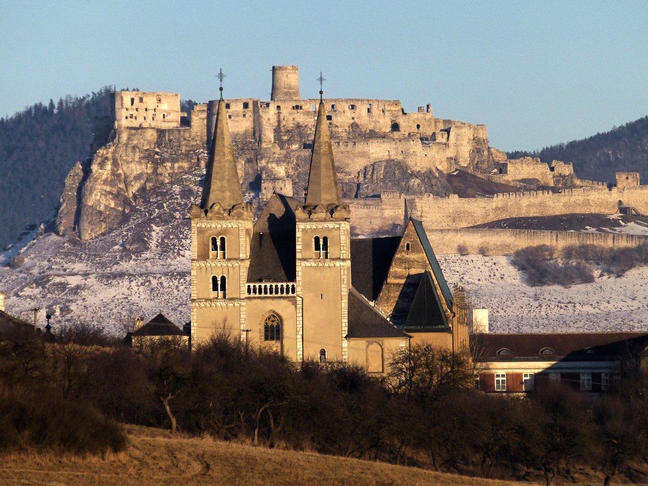 Spišská Kapitula and Spišské Podhradie with Spiš castle in the background, Best of Slovakia